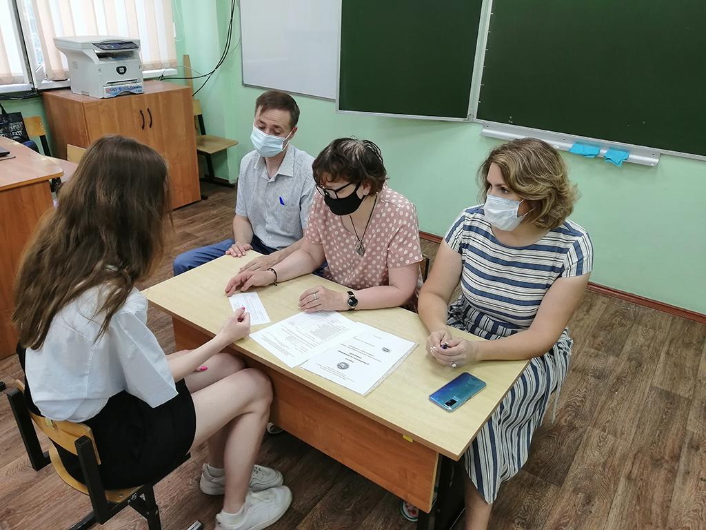 С вожатским экзаменом от ГСГУ школьники справились на «пять»