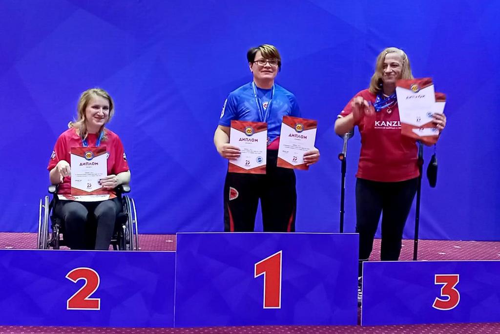 Студентка ГСГУ стала мастером спорта международного класса по армрестлингу